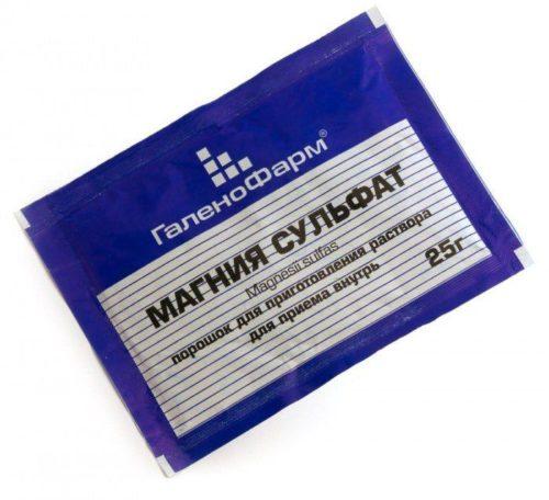 Сульфат магния для очищения кишечника: инструкция по применению.