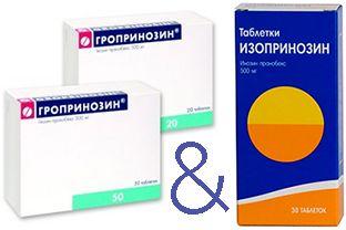 грипринозин и Изопринозин