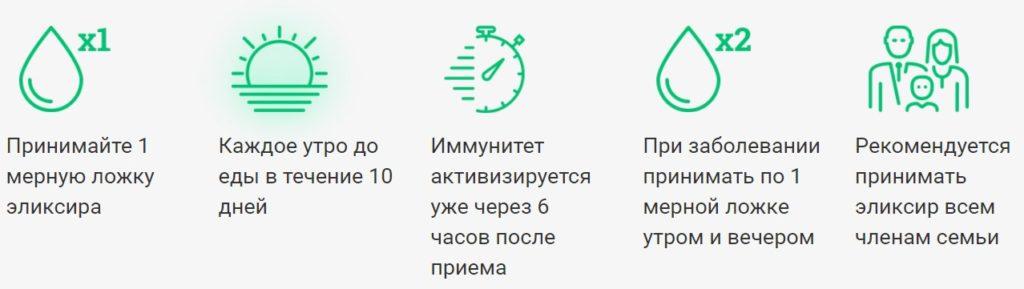 """Иммуномодулирующий эликсир """"Здоров"""" - железный иммунитет всего за 10 дней!"""